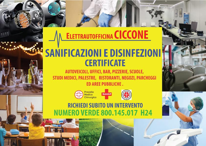 Convenzione con Ciccone Soccorso Aci.
