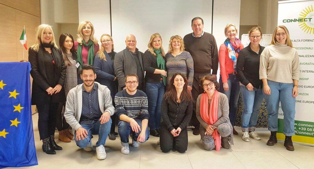 PROGETTO ERASMUS: Casartigiani Abruzzo ha patrocinato il CORSO DA MEDIATORE MUSEALE CON L'USO DI METODOLOGIE PER LA COMUNICAZIONE EFFICACE.